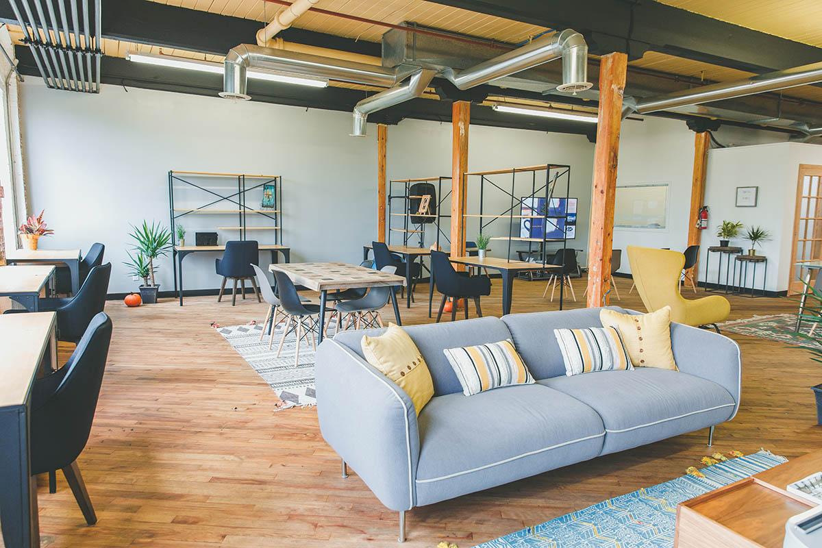 Diseño de interiores sala de reuniones